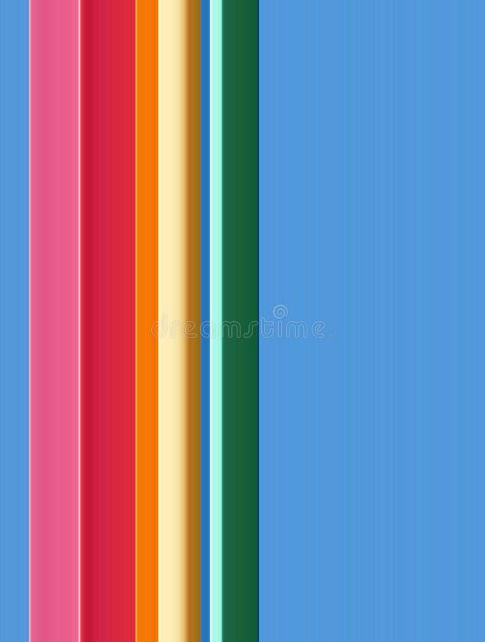 Linha abstrata teste padrão ilustração royalty free