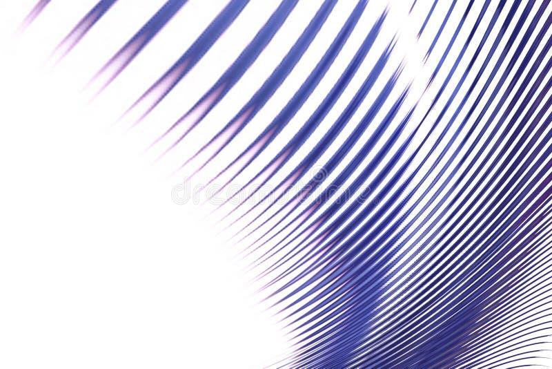 Linha azul sumário ilustração do vetor