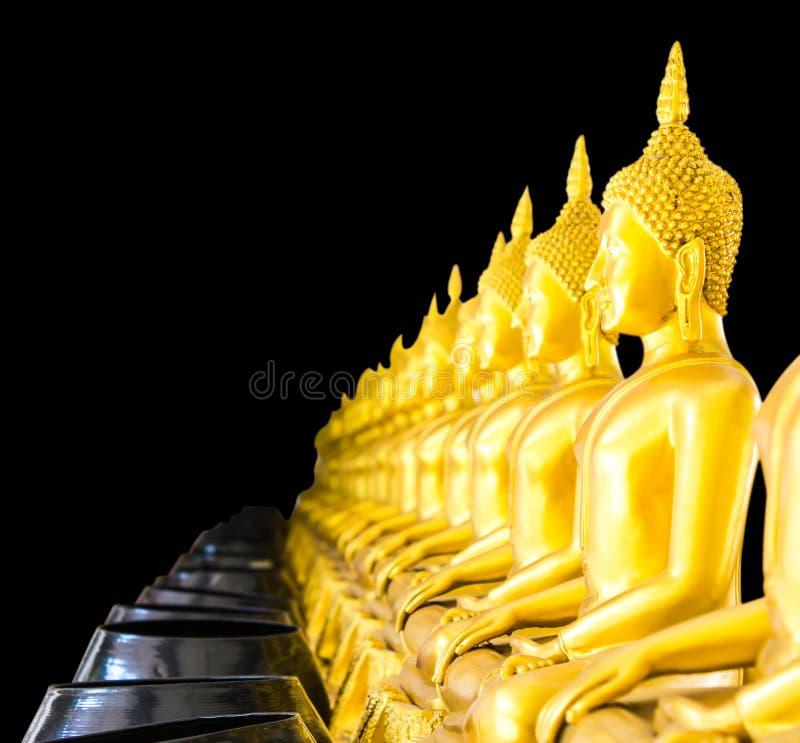 Linha borrada bacia da Buda imagem de stock royalty free