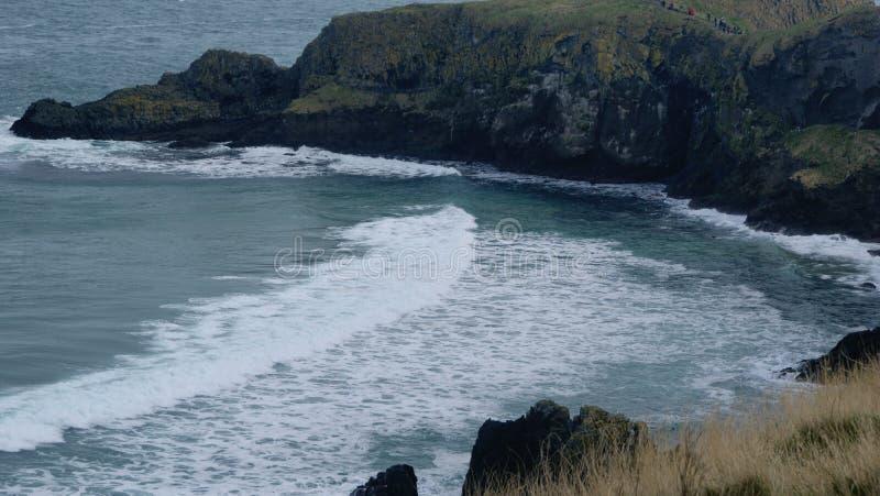 Linha costal de Oceano Atlântico imagens de stock