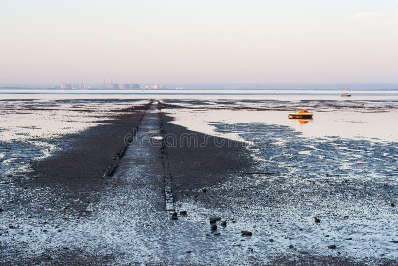 Linha costeira de Southend imagem de stock
