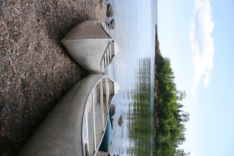 Linha costeira do grande lago imagens de stock