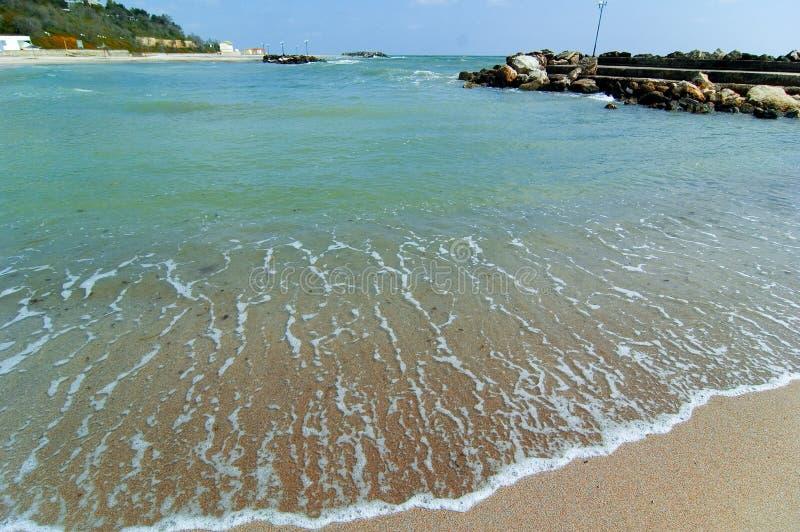 Linha costeira do Mar Negro fotografia de stock royalty free