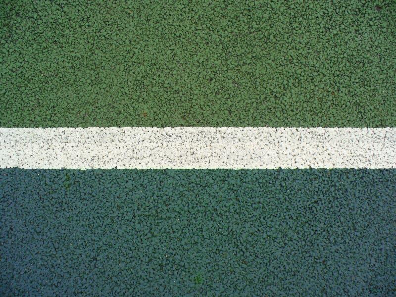 Linha da corte de tênis imagem de stock