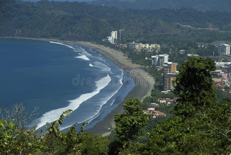 Download Linha costeira 2 de Jaco imagem de stock. Imagem de azul - 29846179