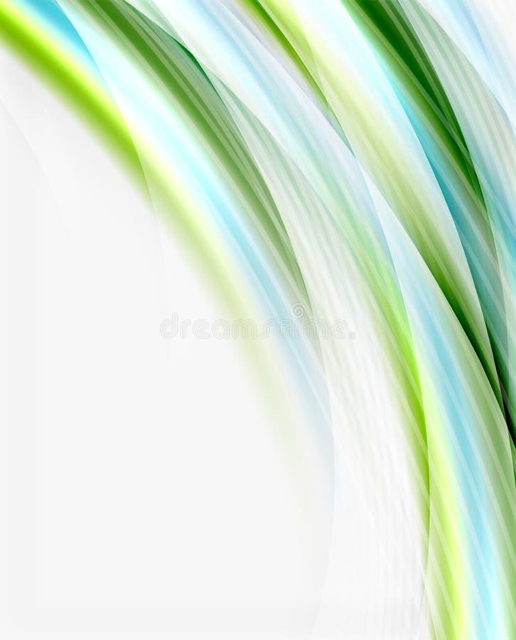 Linha da onda, negócio ou molde translúcido da tecnologia foto de stock