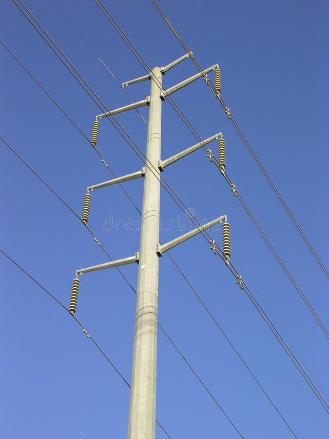 Download Linha de alta tensão 1 imagem de stock. Imagem de pólo, linhas - 59535