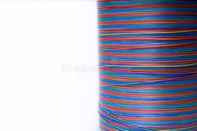 Linha de cores do arco-íris fotografia de stock royalty free