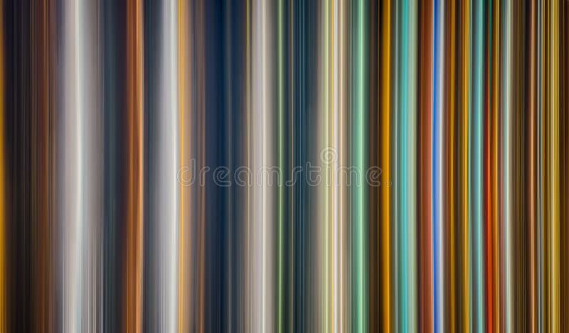 Linha de luz multicolour vertical da velocidade do sumário ilustração do vetor