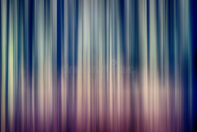 Linha de luzes vertical abstrata borrão de movimento ilustração royalty free