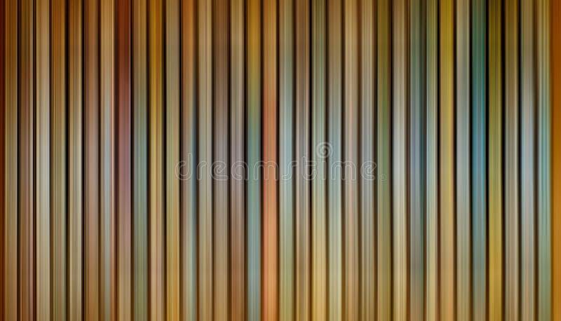 Linha de luzes vertical borrão das cores do sumário multi de movimento ilustração stock