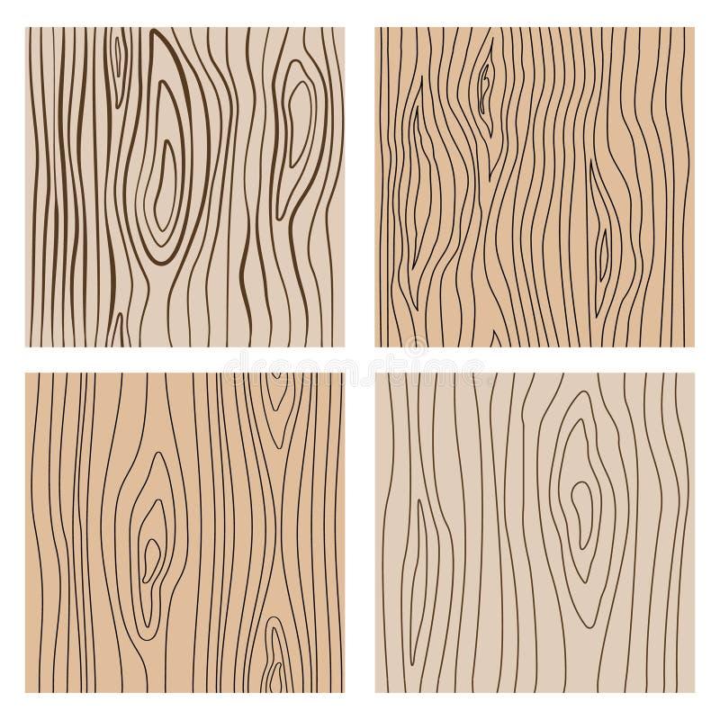 Linha de madeira abstrata texturas sem emenda Repetindo o fundo de madeira do vetor da decoração ilustração do vetor