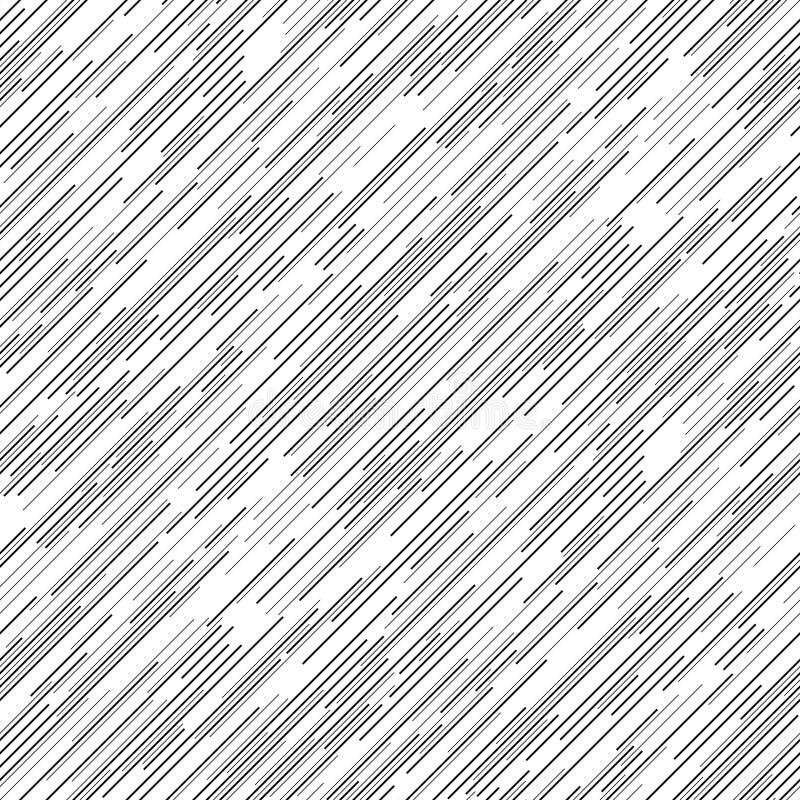 Linha diagonal sem emenda teste padrão ilustração do vetor