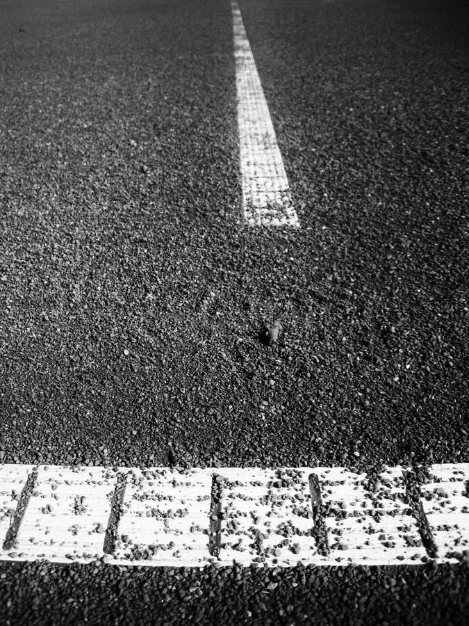 Linha Do Campo De Tênis (82) Fotografia de Stock