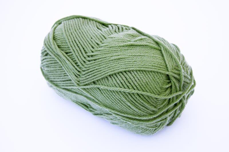 Linha do Crochet foto de stock