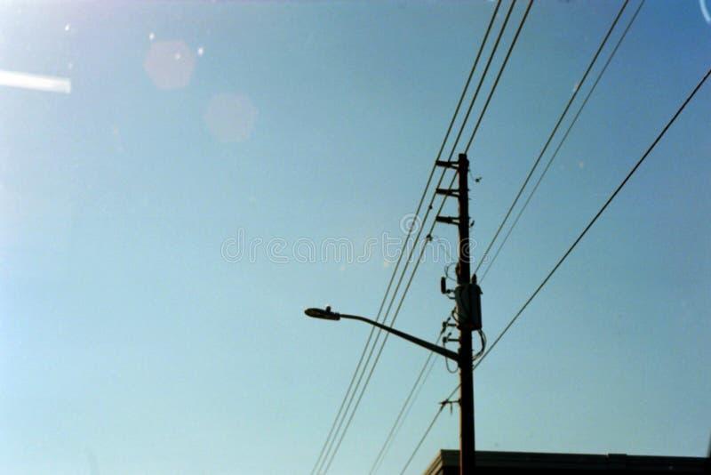 Linha elétrica em Sarasota, Florida fotos de stock