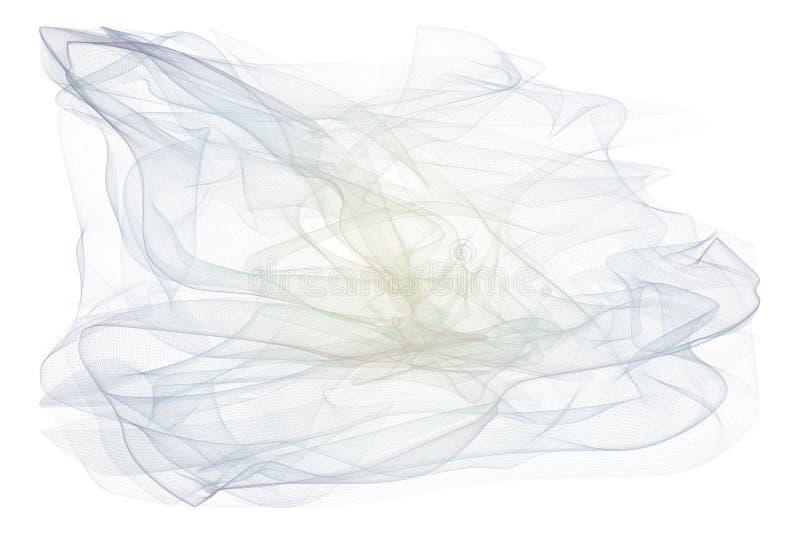 Linha fumarento abstrata fundo das ilustrações da arte Tampa, efeito, teste padrão & curva fotos de stock