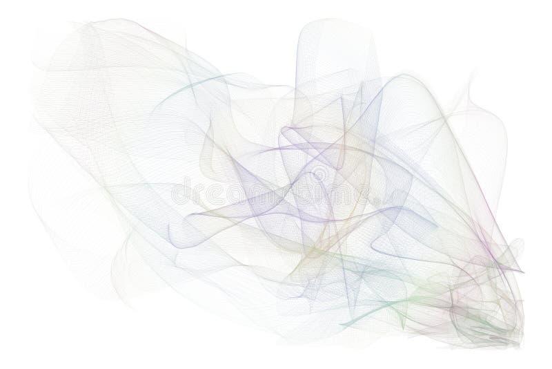 Linha fumarento decorativa e artística ilustrações da arte Digitas, criativo, textura & gráfico fotos de stock royalty free