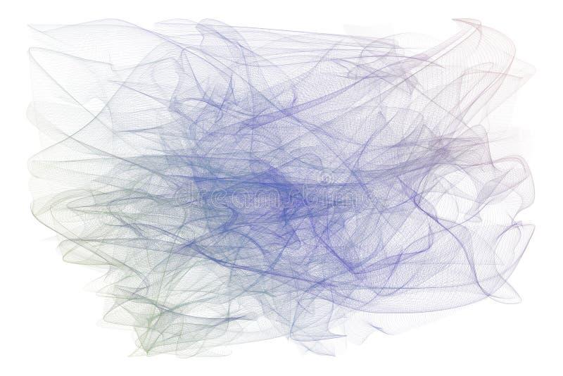 Linha fumarento decorativa e artística ilustrações da arte Superfície, lona, efeito & conceito fotografia de stock