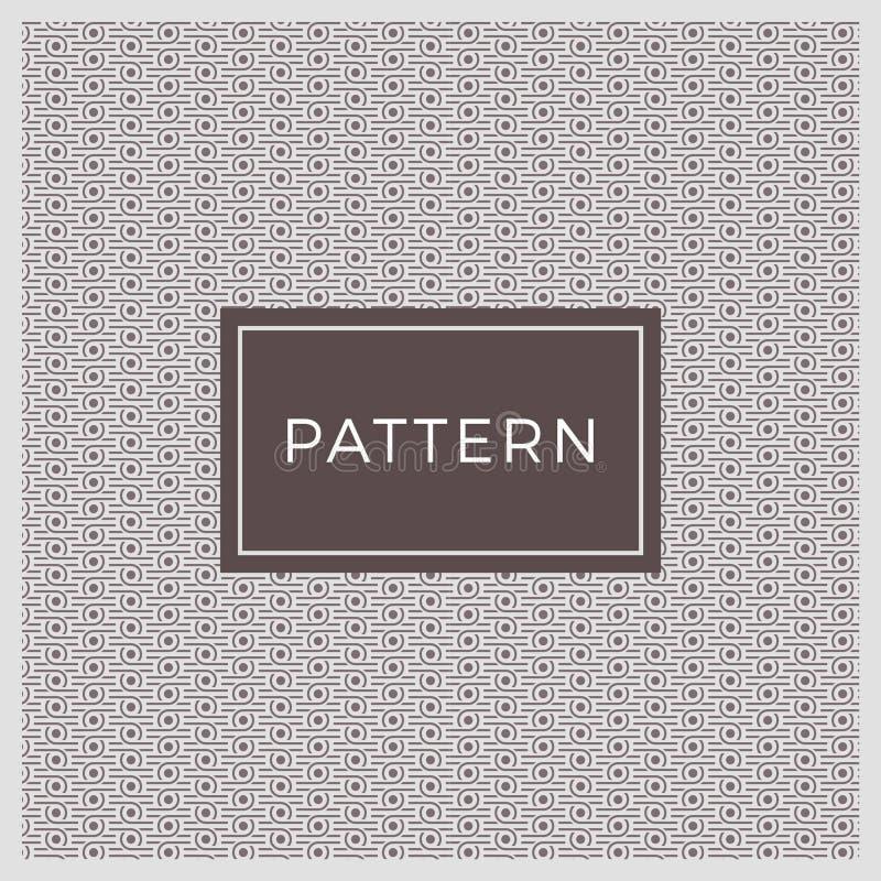 Linha geométrica expansível fundo e textura do círculo do teste padrão ilustração royalty free
