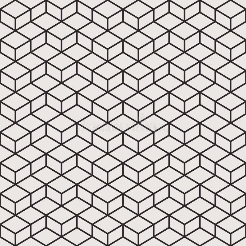 Linha geométrica vetor do teste padrão fotos de stock royalty free