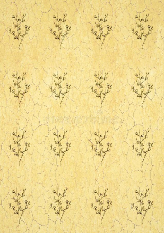 Linha gráfica teste padrão de flores monocromático em um fundo branco, ilustração bonita da arte alimento do vegetariano do fruto ilustração do vetor