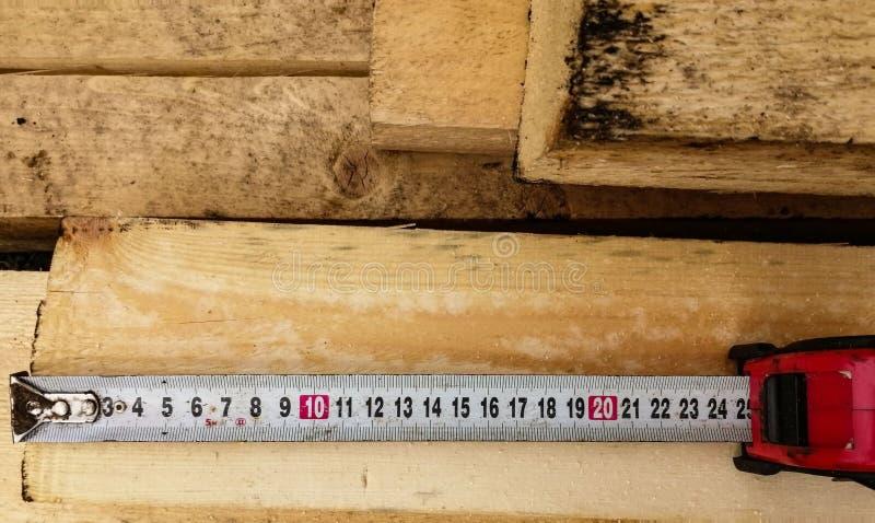 Linha medição da fita fotos de stock