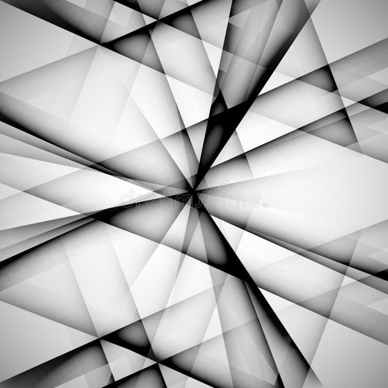 Linha monocromática abstrata techno eps do teste padrão do vetor ilustração do vetor