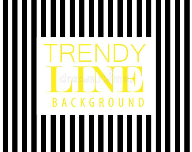 Linha na moda fundo, listra preta diagonal, elemento do projeto moderno, ilustração royalty free