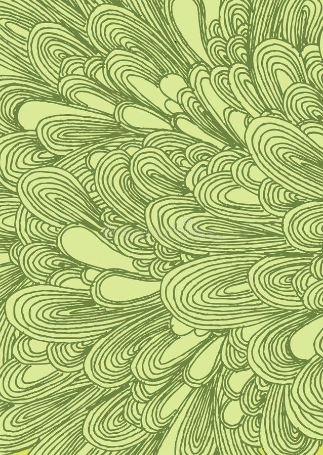 linha orgânica fundo da arte