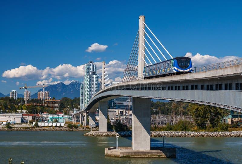 Linha ponte de Canadá fotografia de stock