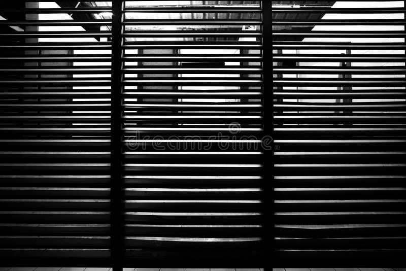 Linha preto e branco teste padrão da peça da construção imagem de stock