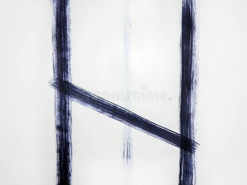 Linha que repete a abertura do estar aberto ilustração stock