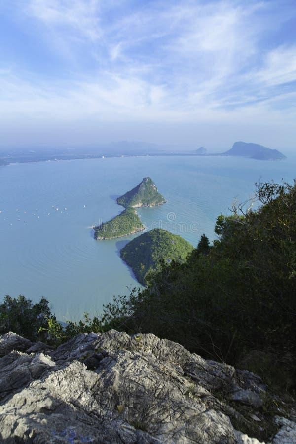 Linha Tailândia da montanha imagens de stock