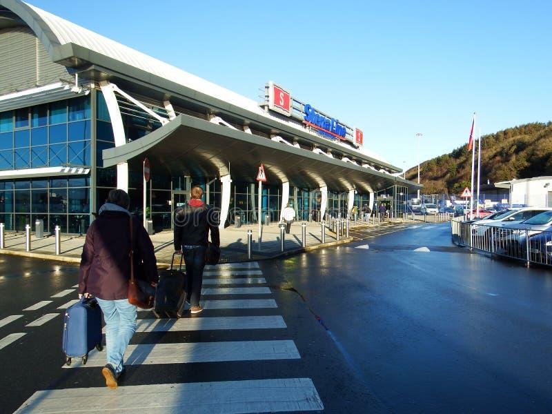 Linha terminal de Stena, Cairnryan fotografia de stock royalty free