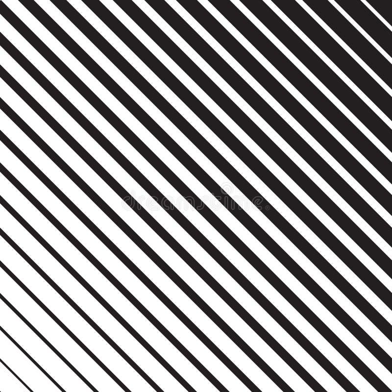 Linha teste padrão da reticulação ilustração do vetor