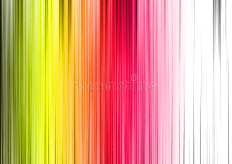 Linha vertical do teste padrão colorido do fundo ilustração stock