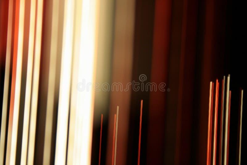 Linhas óticas da fibra-luz imagem de stock