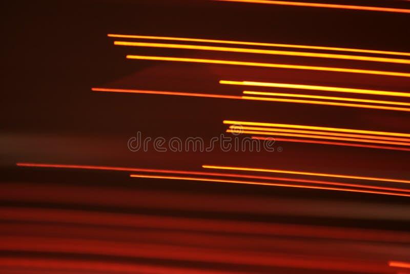 Linhas óticas da fibra-luz imagens de stock