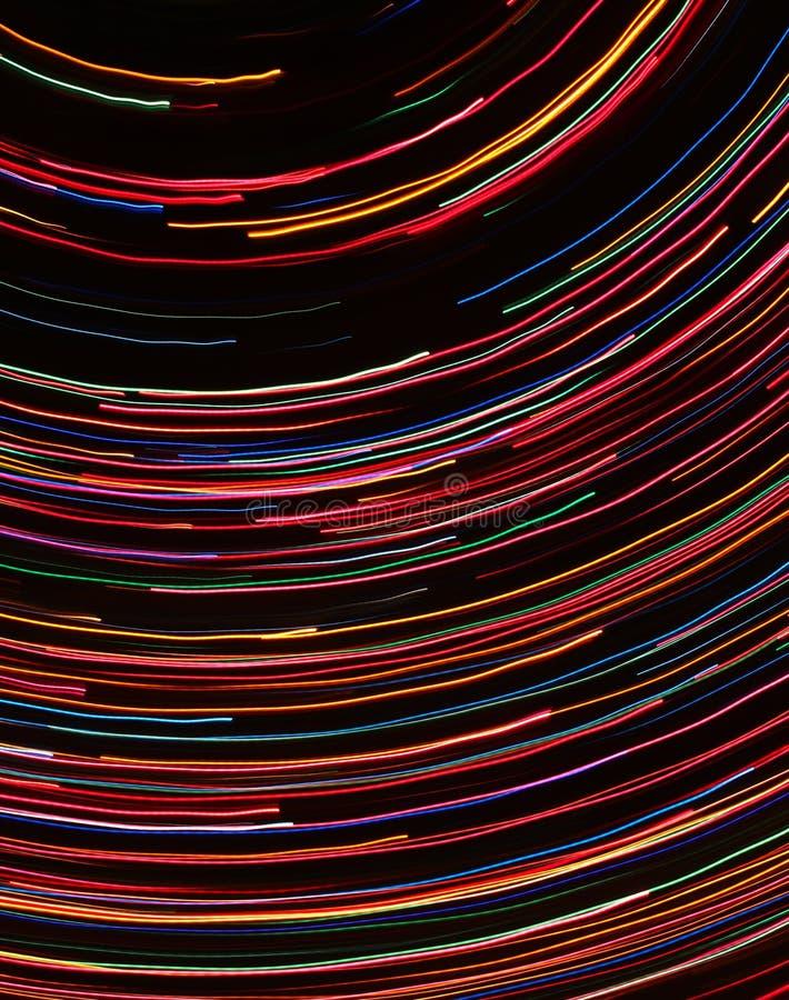 Linhas abstratas coloridas imagens de stock royalty free