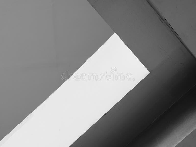 Linhas abstratas da arquitetura do fundo Detalhe moderno da arquitetura Fragmento refinado buil interior/público contemporâneo do imagens de stock