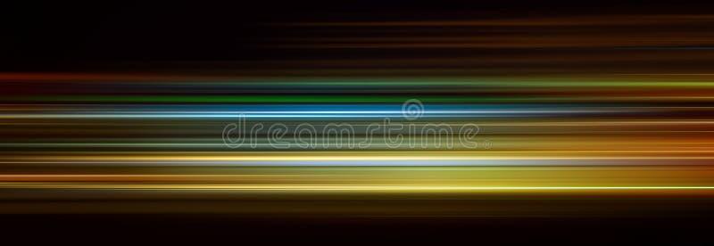 Linhas abstratas da cor ilustração do vetor