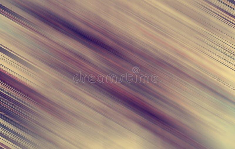 Linhas abstratas do outono ilustração stock