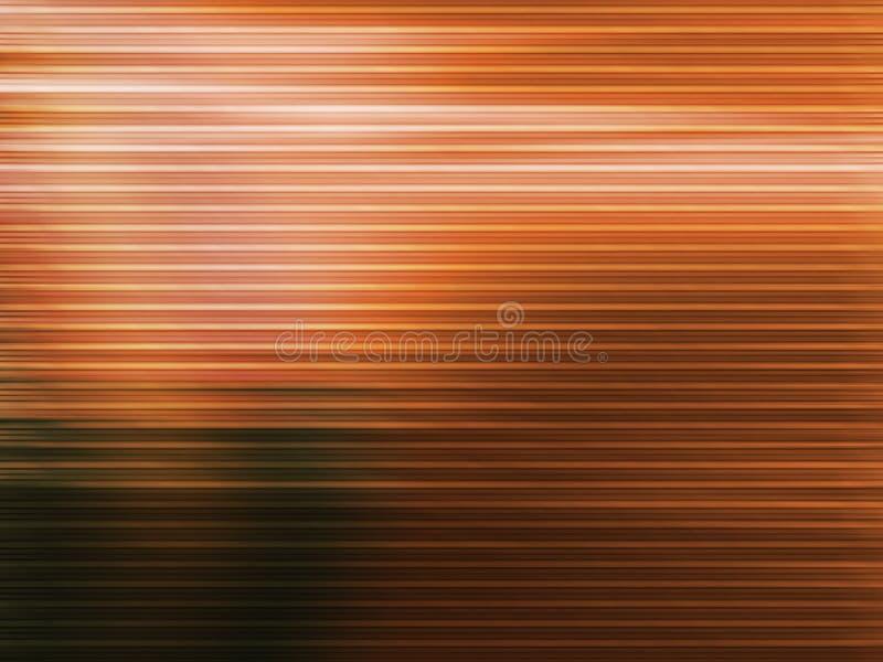 Linhas Alaranjadas Fotos de Stock
