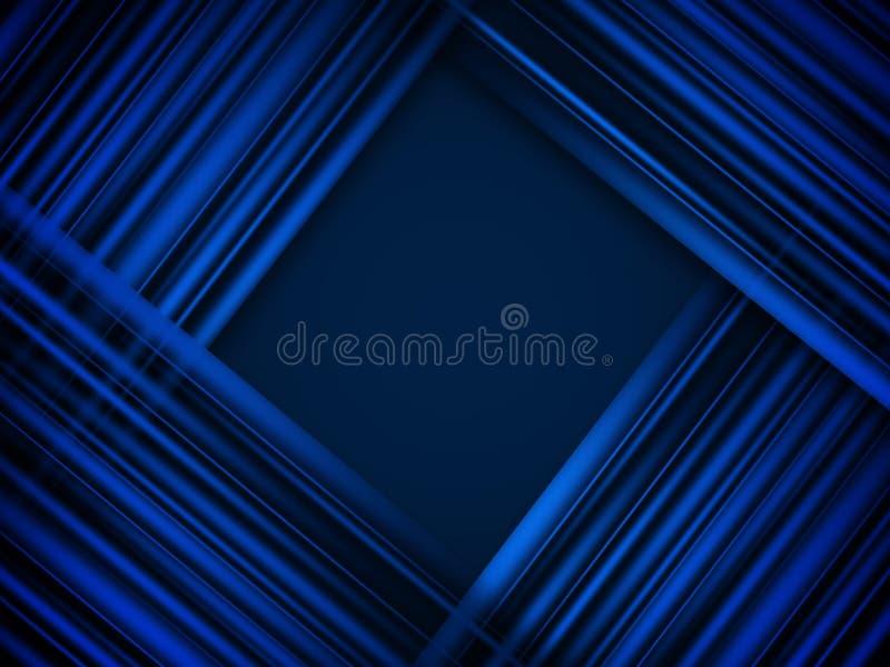 Linhas claras fundo abstrato da cor reta ilustração stock