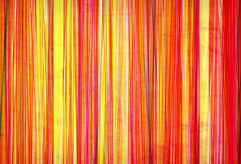 Linhas coloridas de Grunge ilustração stock