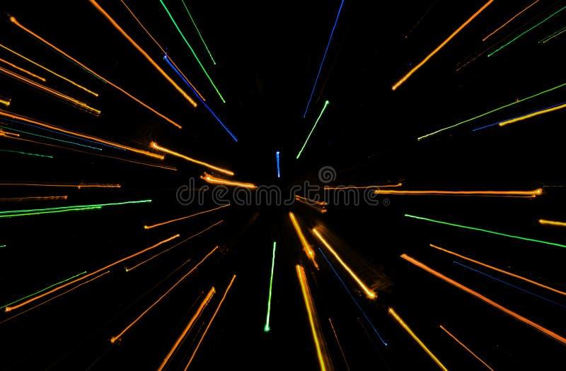 Linhas coloridas fundo foto de stock