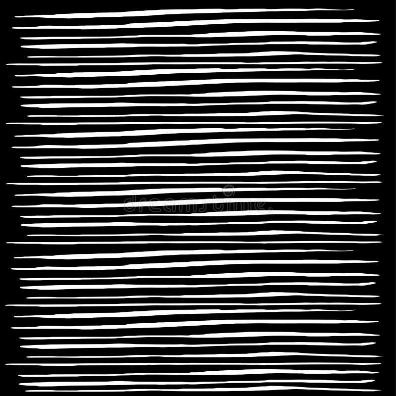 Linhas da garatuja da textura do esboço foto de stock