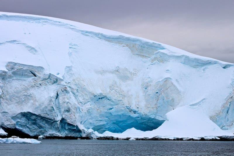 Linhas da geleira foto de stock royalty free