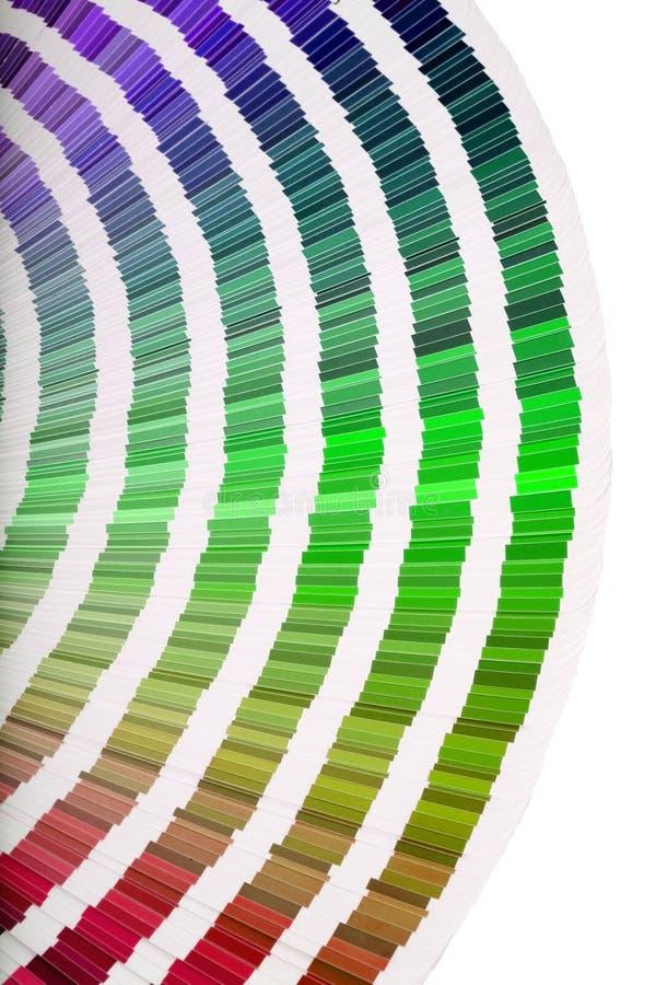 Linhas de cor foto de stock